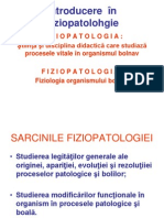 Introducere  în Fiziopatolohgie