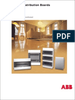 Acrylic Distribution Boards