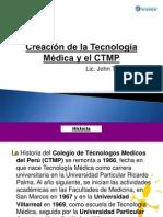 Creacion de La T. Medica y CTMP -2013-2- PDF