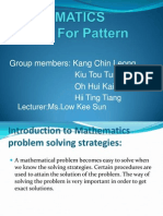 Look for Pattern