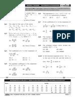 Mathematics Test 2