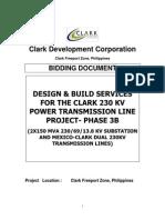 Clark Development Corporation BD-Power Transmission Line - Phase 3B