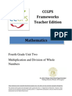 DOE Math 4 Unit2Framework