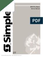 Manual de Servicios Simplex 4010