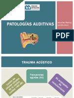 Patologías auditivas