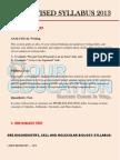 GRE Revised Syllabus 2013 PDF