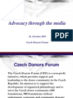 Advocacy through the media.ppt