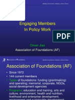 Engaging members in policy work.ppt