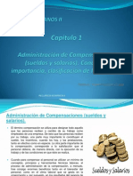 CAPITULO I Administracion de Compensaciones