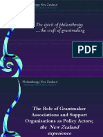 The role of grantmaker The spirit of philanthropy.ppt