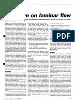 Lowdown on Laminar Flow
