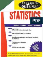 Schaum's Statistics