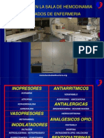 Clase Farmacologia en Hemodinamia