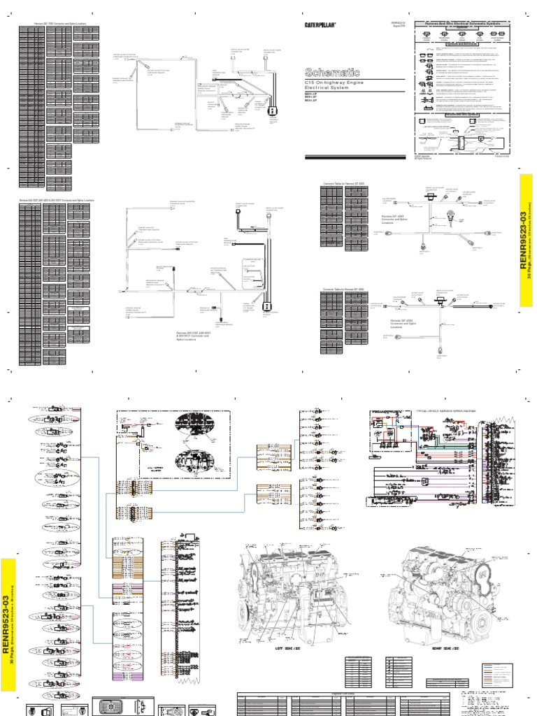 Cat 3406e Wiring Diagram Electrical Diagrams 3176 1995 Peterbilt 3406 E News U2022 3208 Engine Fuel Pump