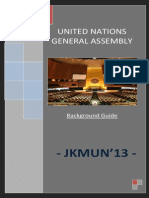 Background Guide UNGA