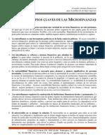 3. Principios Claves de Las Microfinanzas