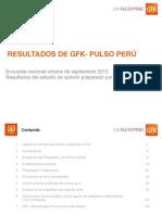 GfK Pulso Peru Setiembre 2013 5