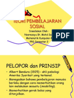 Teoripembelajaransosial Ayu 120312225921 Phpapp01