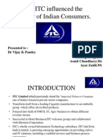 ITC PPT on Consumer Behavior