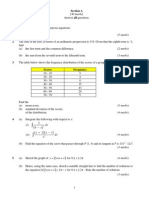 Add Maths Paper 2 Trial 1 2009
