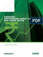 India Special Report - Assessing the Economic Impact of India's Real Estate Sector - CREDAI CBRE