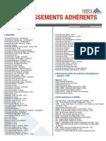 Etablissements Adherents Fr
