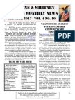 Veterans & Military Families Monthly News-October 2013