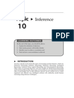Topic 10 Inference