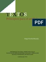 Textos Principos Para El Analisis Portilla