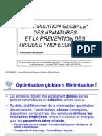 Optimisation Des Armatures Et PRP JPC