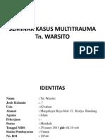 Seminar Tn. Warsito, Lius Edit