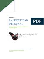 La Identidad Personal Aplicado en La Practica Docente