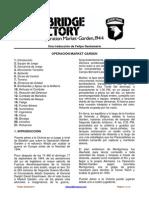 Análisis de la Operación Market Garden