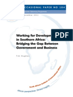 Working for Development in Southern Africa