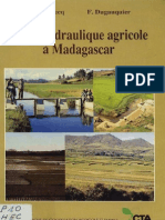 Petite hydraulique agricole à Madagascar