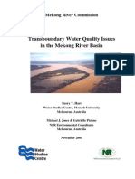 0003423 Environment Transboundary Water Quality Issues in the Lower Mekong Basin 2