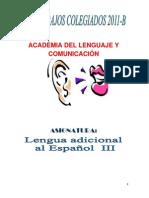 Sec. Ingles III