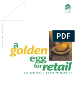 A Golden Egg for Retail