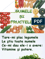 Legumele Si Fructele Cantec