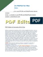 Editor eBook