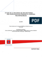 Rapport Seconde Vie Des Batteries-Version Finale
