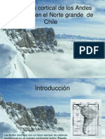 Morelli Estructura Cortical de Los Andes