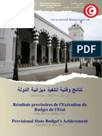 Rsultats Provisoires de Lexcution de Budget Fin Juillet 20130