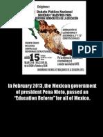 Mexico Teacher Struggle Slideshow