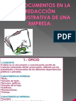 Documentos de Redaccion Administrativa