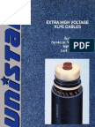 Catalogue of EHV Cables
