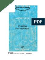 Aristotel - De Anima. Parva Naturalia v.0.9.1