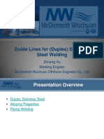 Guidelines for Stainlesssteel Welding