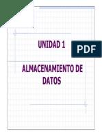 Almacenamiento de Datos (Diapositiva 1)