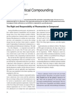 Pharmaceuitical Compounding